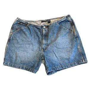 LANE BRYANT Vintage Stonewash Denim Jean Shorts 22